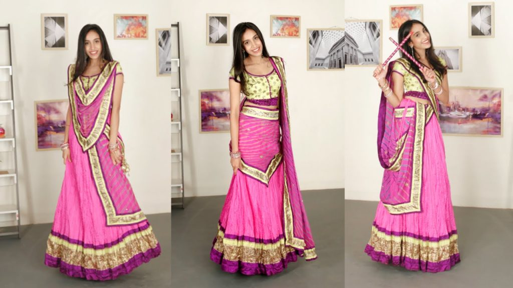 Spotlight with your Lehenga Choli