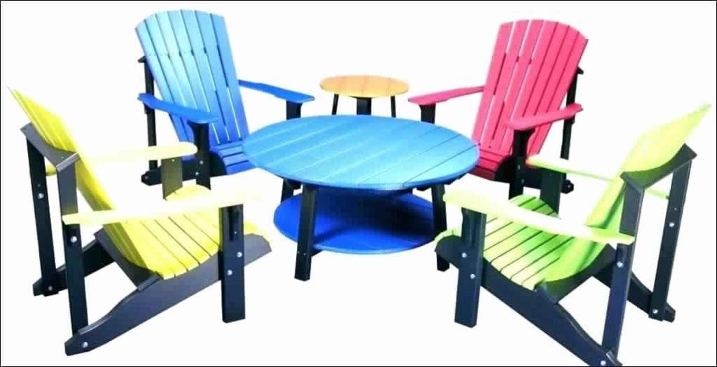 Plastic Adirondack Chairs